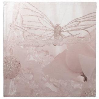 Schmetterling träumt Sammlung Serviette