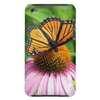 Schmetterling und Kegel-Blume Case-Mate iPod Touch Hülle