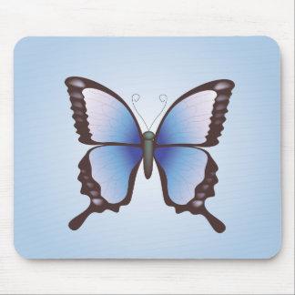 Schmetterling: Vektorillustration: Mousepad
