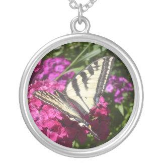 Schmetterling Versilberte Kette