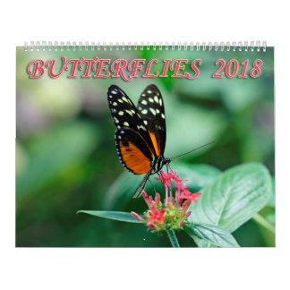 Schmetterlinge 2018 kalender
