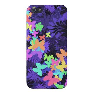 Schmetterlinge auf Blau iPhone 5 Cover