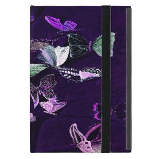 Schmetterlinge auf Lila iPad Mini Etui