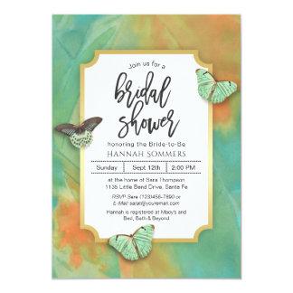 Schmetterlinge auf Südwesten färbt Brautparty Karte