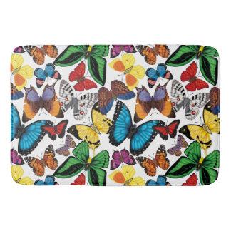 Schmetterlinge der Welt Badematte