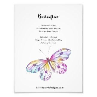 Schmetterlinge Fotodruck