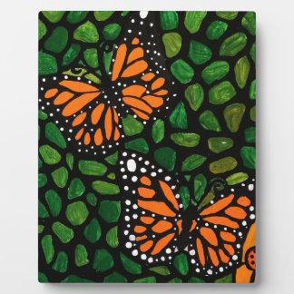 Schmetterlinge Fotoplatte