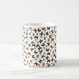 Schmetterlinge Kaffeetasse