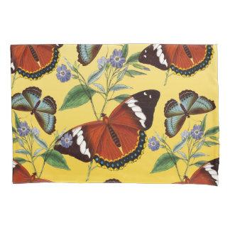 Schmetterlinge mischen Gelb Kissenbezug