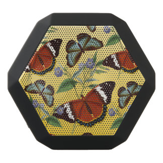 Schmetterlinge mischen Gelb Schwarze Bluetooth Lautsprecher