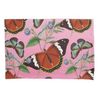 Schmetterlinge mischen Rosa Kissenbezug
