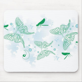 Schmetterlinge Mousepad