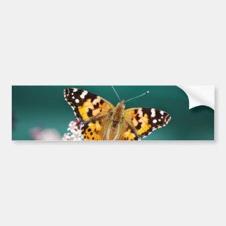 Schmetterlinge sind frei autoaufkleber