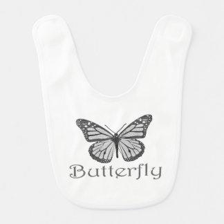 Schmetterlings-Babyschellfisch Babylätzchen