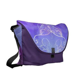 Schmetterlings-Band-Bote-Tasche Kurier Taschen