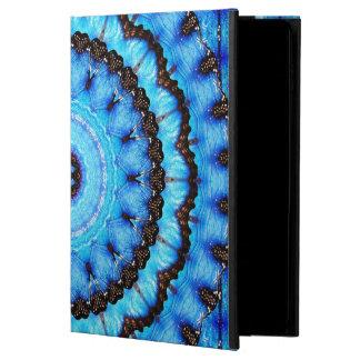 Schmetterlings-Blau-Mandala