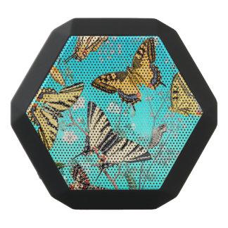 Schmetterlings-blaue Mischung Schwarze Bluetooth Lautsprecher