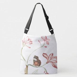 Schmetterlings-Blumen-Blüten-BlumenTaschen-Tasche Tragetaschen Mit Langen Trägern
