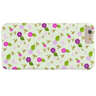 Schmetterlings-Blumen-Garten iphone Barely There iPhone 6 Plus Hülle
