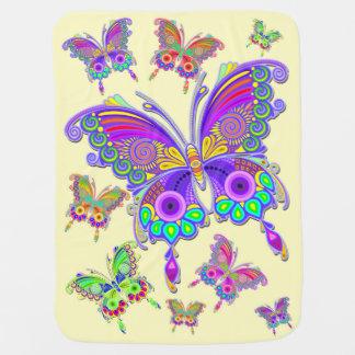 Schmetterlings-bunte Tätowierungs-Art Puckdecke