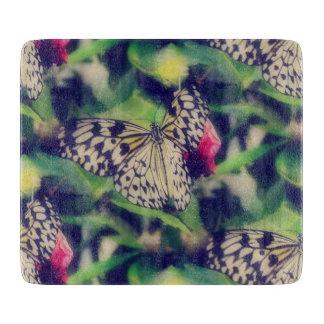 Schmetterlings-Collage Schneidebrett