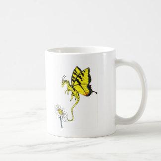 Schmetterlings-Drache Kaffeetasse