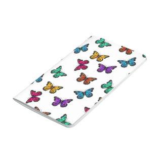 Schmetterlings-Druck-Notizbuch Taschennotizbuch