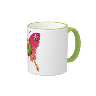 Schmetterlings-Entwurf Kaffee Tassen