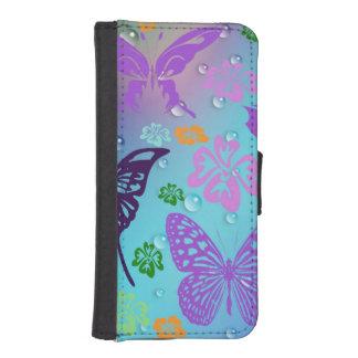 Schmetterlings-Fantasie I Phone 5 Portmonees