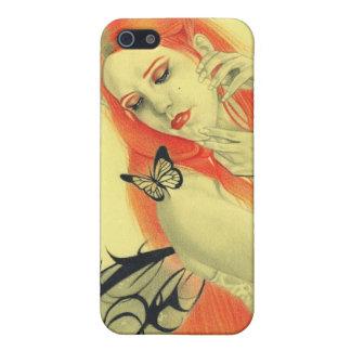 Schmetterlings-feenhafter Geheimnis-Speck-Kasten iPhone 5 Schutzhülle