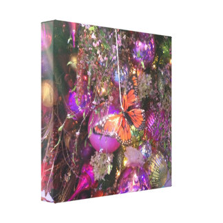 Schmetterlings-Feiertage Gespannte Galeriedrucke