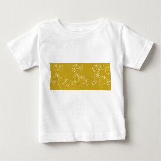 Schmetterlings-Feld Baby T-shirt