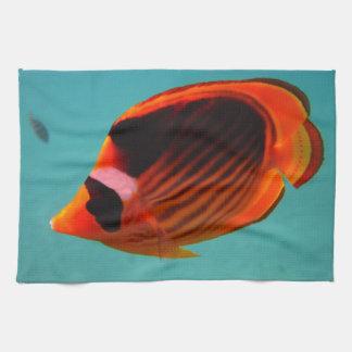 Schmetterlings-Fische Handtuch