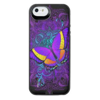Schmetterlings-Freude iPhone SE/5/5s Batterie Hülle
