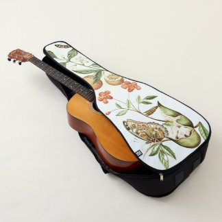 Schmetterlings-Frucht-Blumen-Tier-Gitarren-Tasche Gitarrentasche