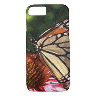 Schmetterlings-Garten iPhone 8/7, kaum dort Fall iPhone 8/7 Hülle