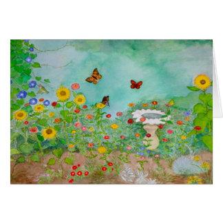 Schmetterlings-Garten Karte