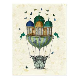 Schmetterlings-Haus 2 Postkarte
