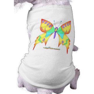 Schmetterlings-Hund Hund T Shirt