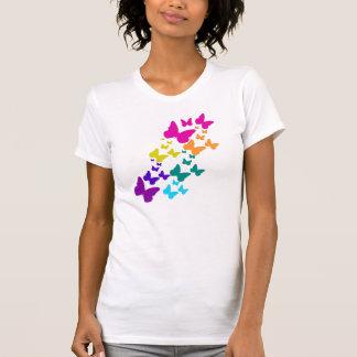Schmetterlings-Kaskade T-Shirt