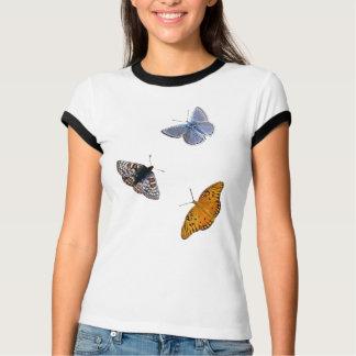 Schmetterlings-Kleidungs-Wecker T-Shirts