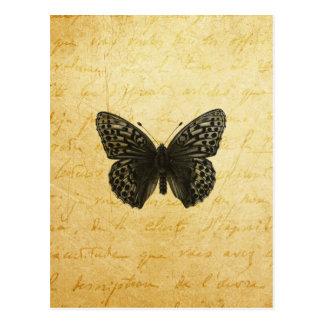 Schmetterlings-Kunst Postkarte