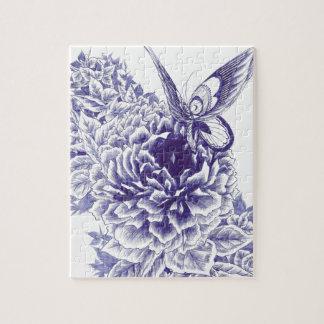 Schmetterlings-Kuss Puzzle