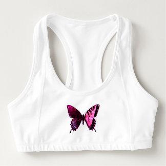 Schmetterlings-Logik Sport-BH