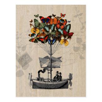 Schmetterlings-Luftschiff 2 Postkarte