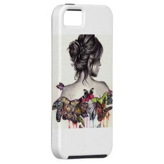Schmetterlings-Mädchen Etui Fürs iPhone 5