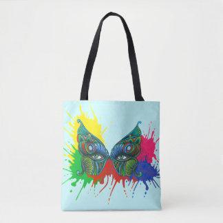 Schmetterlings-Maske Tasche
