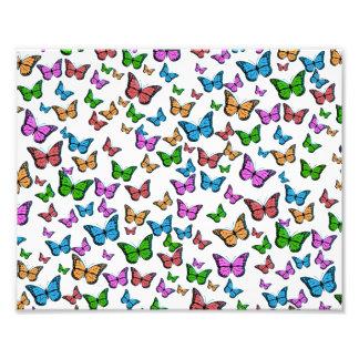 Schmetterlings-Muster-Entwurf Fotodruck