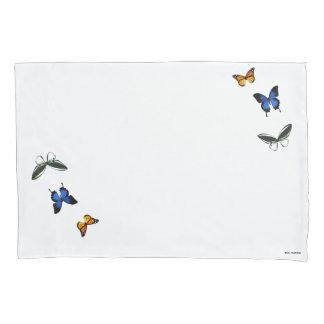 Schmetterlings-Muster-Kissenbezug-Set Kissenbezug