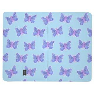 Schmetterlings-Muster - Taschen-Zeitschrift Taschennotizbuch